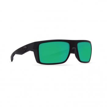 Очки поляризационные COSTA DEL MAR Motu W580 р. M цв. Blackout цв. ст. Green Mirror Glass