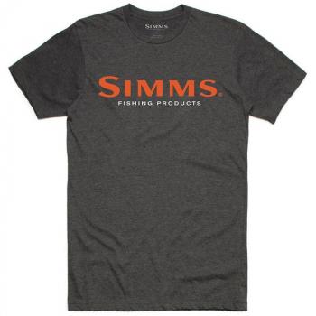 Футболка SIMMS Logo T-Shirt S19 цвет Charcoal Heather