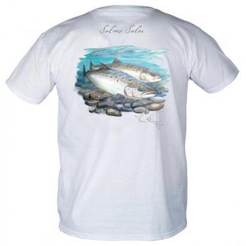 Футболка SIMMS Weiergang Atlantic Salmon цвет White