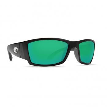 Очки поляризационные COSTA DEL MAR Corbina W580 р. L цв. Matte Black Global Fit цв. ст. Green Mirror Glass