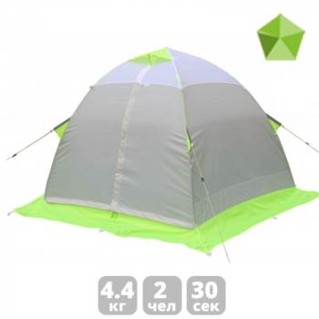 Палатка ЛОТОС-ТЕНТ Lotos 2 двухместная в интернет магазине Rybaki.ru