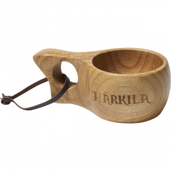 Кружка HARKILA Wooden cup цв. Light brown 100 мл