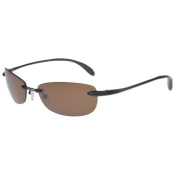 Очки солнцезащитные MAKO Feather Flex XL цв. Shiny Black цв. стекла Nylon HD Brown