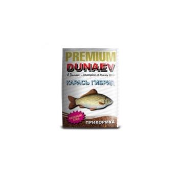 Прикормка DUNAEV Premium 1кг Карась Гибрид в интернет магазине Rybaki.ru