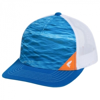 Кепка SIMMS 5-panel Trucker Water цв. Electric Blue