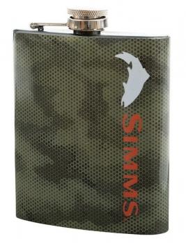 Фляжка SIMMS Flask цв. Hex Camo Boulder 7 oz в интернет магазине Rybaki.ru