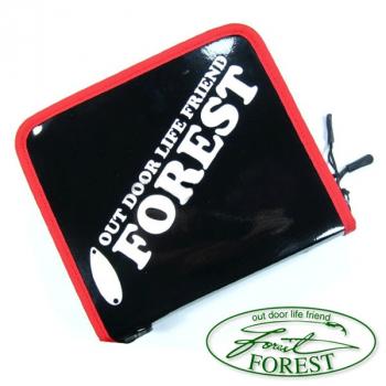 Кошелек FOREST 2016 Lure Case цв. Enamel (черный глянец) в интернет магазине Rybaki.ru