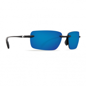 Очки поляризационные COSTA DEL MAR Oyster Bay 580P р. M цв. Shiny Black цв. ст. Blue Mirror