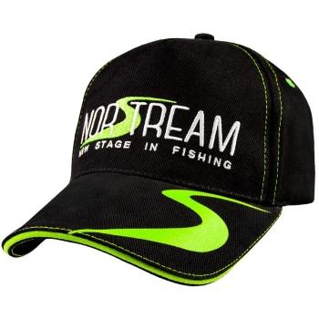 Бейсболка NORSTREAM с логотипом цв. черно-зеленый
