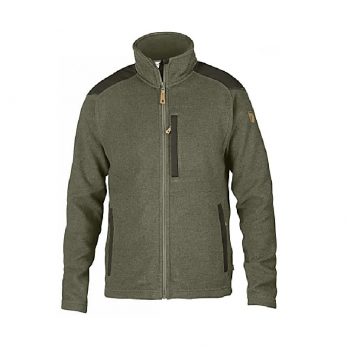 Жакет FJALLRAVEN Buck Fleece M цвет Laurel Green-Deep Forest
