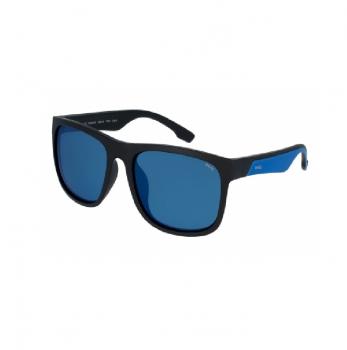 Очки INVU Asia Fit мужские Z2001A цв. матовый черный цв. ст. синий с зеркальным покрытием в интернет магазине Rybaki.ru