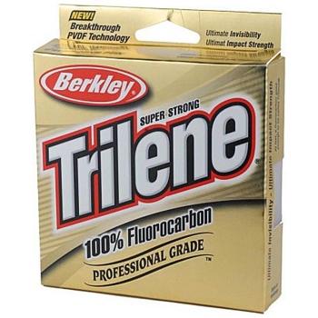 Флюорокарбон BERKLEY Trilene 100% Fluorocarbon New 50 м 0,38 мм в интернет магазине Rybaki.ru