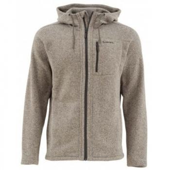 Куртка SIMMS Rivershed Full Zip Hoody цвет Bark