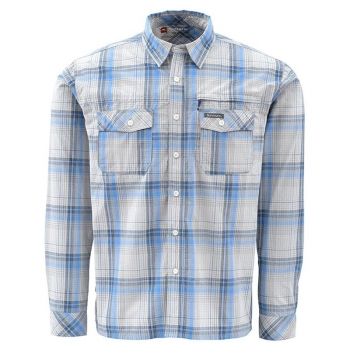 Рубашка SIMMS Kenai Shirt цвет Wave Plaid