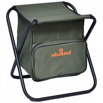 Стул WOODLAND Compact Bag кемпинговый складной 38,5 x 32,5 х 40 см (сталь)