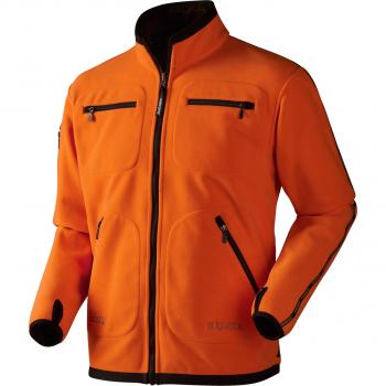 Толстовка HARKILA Kamko Fleece цвет Hunting Green / Orange Blaze