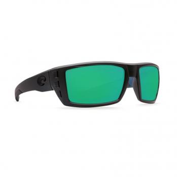 Очки поляризационные COSTA DEL MAR Rafael 580P р. M цв. Black Teak цв. ст. Green Mirror