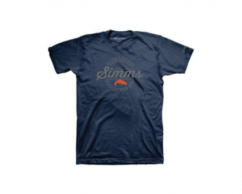 Футболка SIMMS Authentic T-Shirt цвет Navy