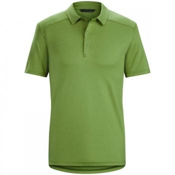 Рубашка CLOUDVEIL South Park SS Polo цвет Ever Green
