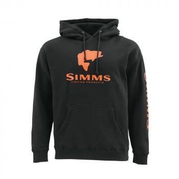 Толстовка SIMMS Bass Logo Hoody цвет Black