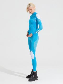 Комплект термобелья V-MOTION Alpinesports женский цвет Голубой