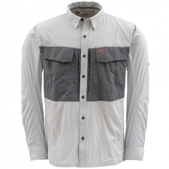 Рубашка SIMMS Guide Shirt цвет grey