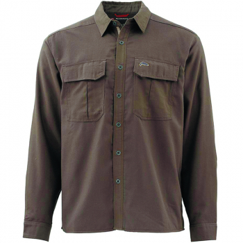 Рубашка SIMMS Coldweather LS Shirt цвет Dark Olive