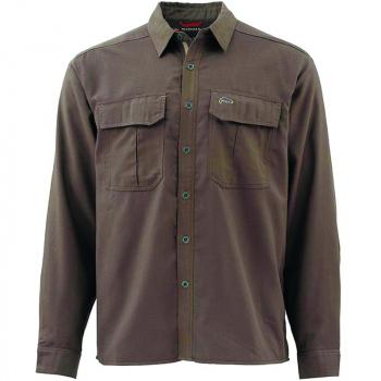 Рубашка SIMMS Coldweather Shirt цвет dark olive