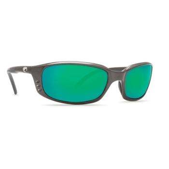 Очки поляризационные COSTA DEL MAR Brine 580P р. L цв. Gunmetal цв. ст. Green Mirror