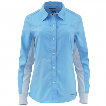 Рубашка SIMMS WS BiComp LS Shirt цвет light blue