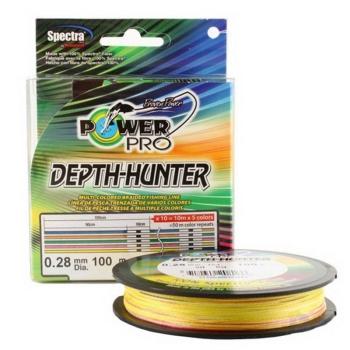 Плетенка POWER PRO разноцветная 150 м 0,10 мм в интернет магазине Rybaki.ru
