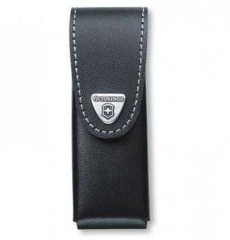 Чехол VICTORINOX для ножа 111 мм нат.кожа петля черный блистер