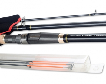 Удилище фидерное BLACK HOLE Hyper Feeder-II 390H 3,9 м тест до 120 гр.