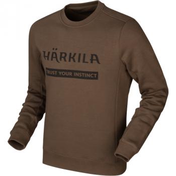 Джемпер HARKILA Sweatshirt цвет Slate brown