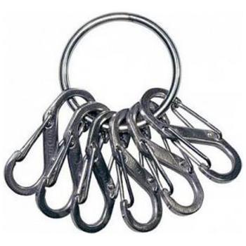 Брелок для ключей NITE IZE Key Ring мтл кар. цв. стальной