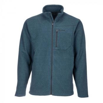 Пуловер SIMMS Rivershed Full Zip '20 цвет Dark Moon