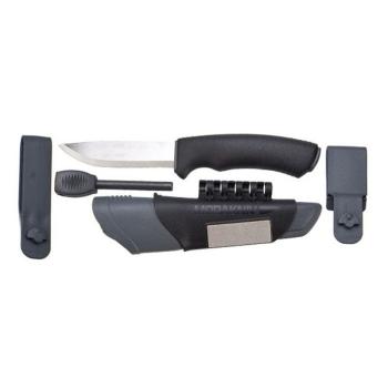 Нож MORAKNIV Bushcraft Survival цв. черный в интернет магазине Rybaki.ru