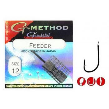 Крючок одинарный GAMAKATSU G-Method Feeder B № 16 (10 шт.) в интернет магазине Rybaki.ru