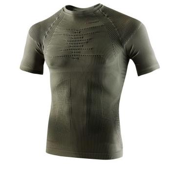 Термофутболка X-BIONIC Hunting Light Man Uw Shirt Short Sleeve цвет Серо-зеленый / Антрацит в интернет магазине Rybaki.ru