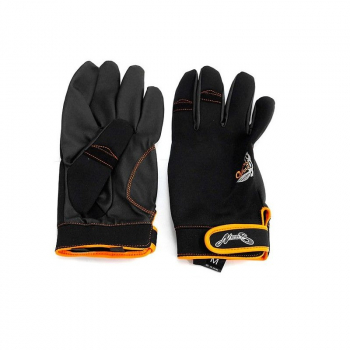 Перчатки NORIES Casting Glove NS-02 цвет Черный / оранжевый в интернет магазине Rybaki.ru