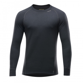 Футболка DEVOLD Duo Active Man Shirt 205 г/м2 цвет Black в интернет магазине Rybaki.ru