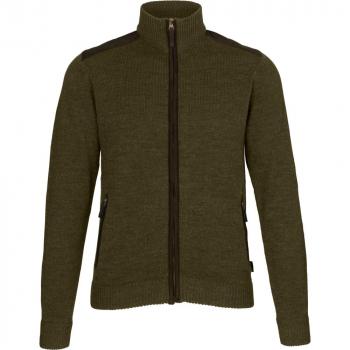 Толстовка SEELAND Buckthorn Full Zip Cardigan цвет Shaded olive melange