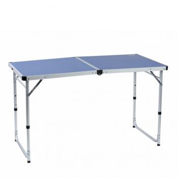 Стол CAMPING WORLD походный Funny Table Blue цв. синий (нагрузка до 30 кг) с чехлом в интернет магазине Rybaki.ru