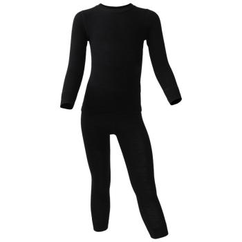Комплект термобелья DR.WOOL Kids Aeroeffect цвет черный в интернет магазине Rybaki.ru