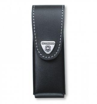 Чехол VICTORINOX для ножа 85 и 91 мм нат.кожа клипс.мет.пов. черный блистер