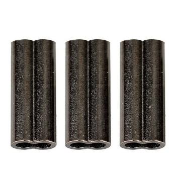 Трубочка обжимная SAVAGE GEAR Double Barrel Crimps BLN р. XL 10 мм д. 1,5 мм (50 шт.)