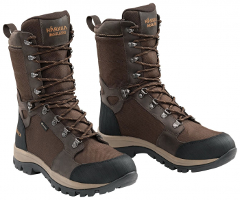 Ботинки треккинговые HARKILA Woodsman XL Insulated GTX SMU цвет Dark Brown