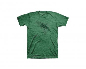 Футболка SIMMS Fish Local Tarpon T-Shirt цвет Kelly Heather
