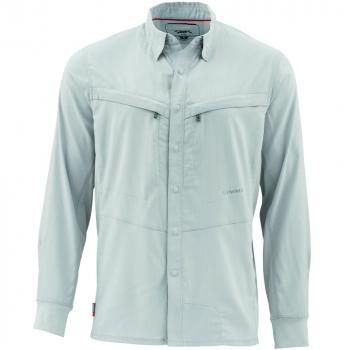 Рубашка SIMMS Intruder Bicomp Shirt цвет Sterling