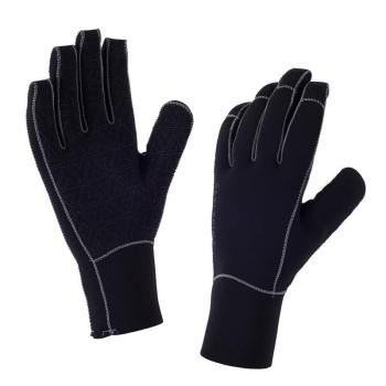 Перчатки SEALSKINZ Neoprene Glove цвет Black / Charcoal в интернет магазине Rybaki.ru